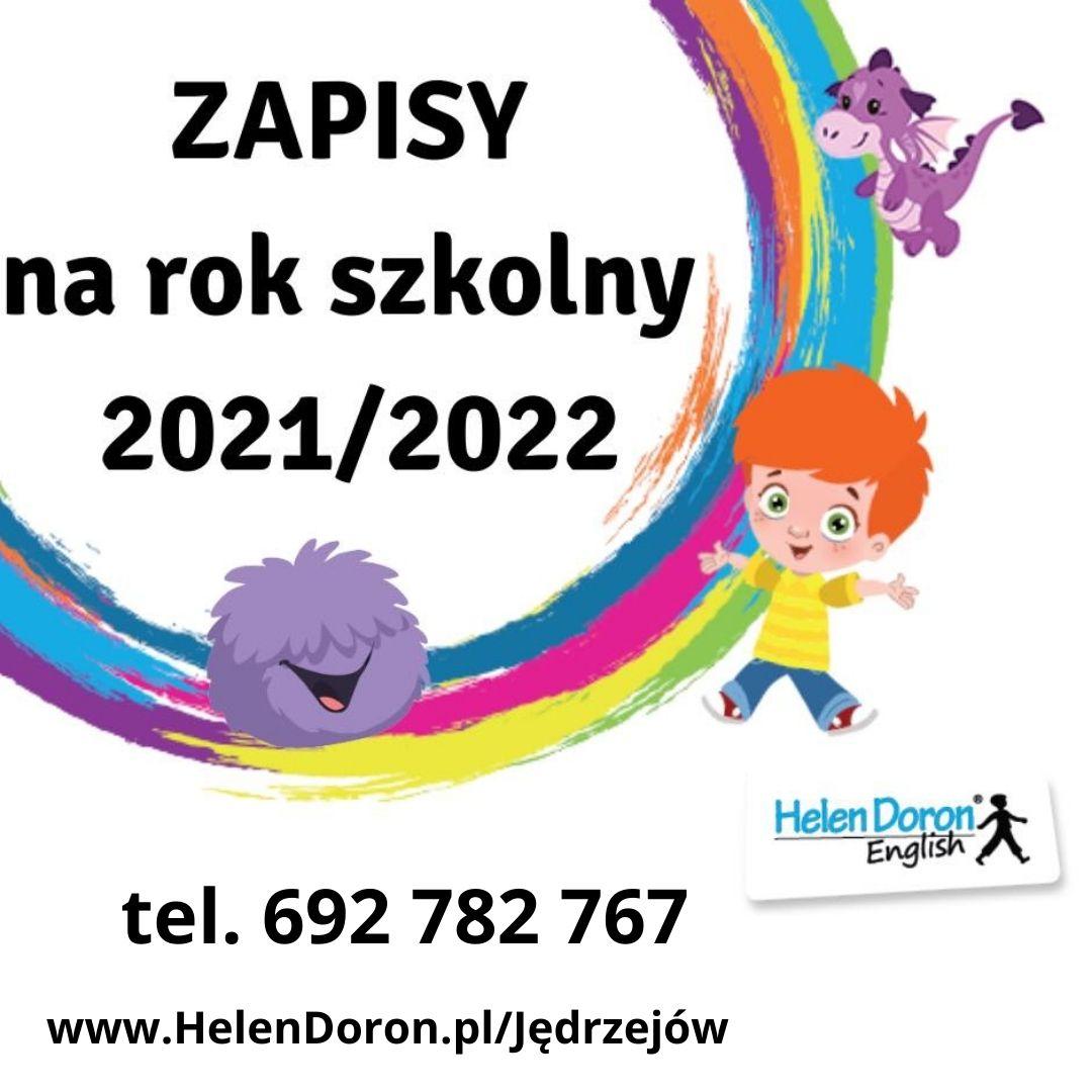 Zapisy na rok szkolny 2021/2022