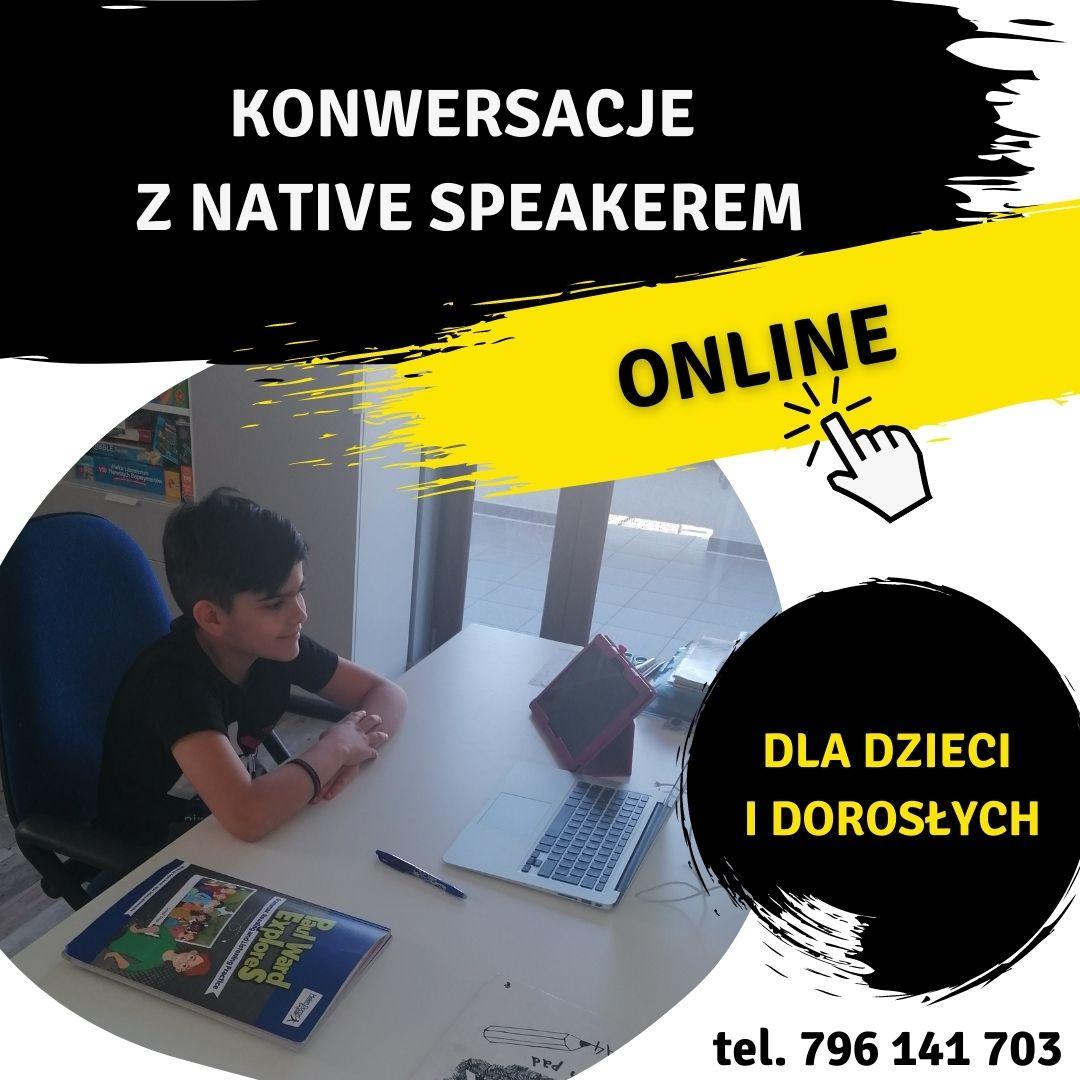 Konwersacje z native speakerami
