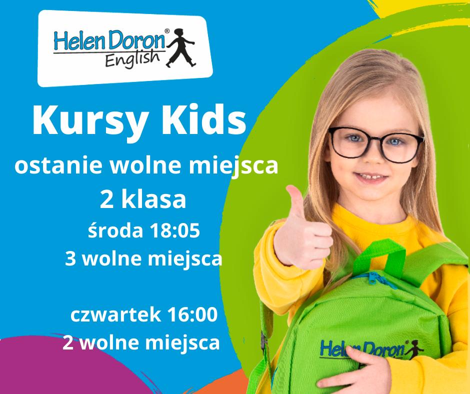 Kursy Kids dla dzieci w wieku 4 i 5 lata