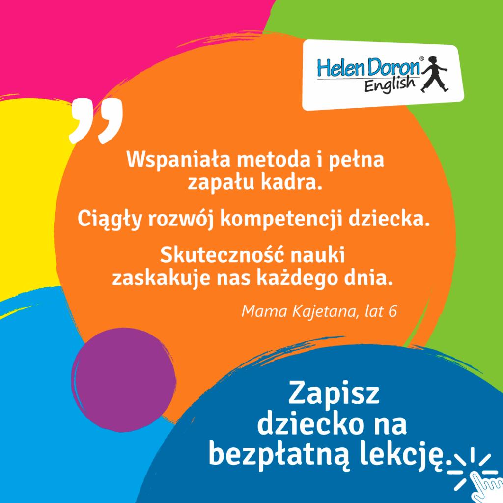 Czym różni się metoda Helen Doron English od innych metod?